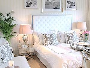 Łóżka tapicerowane w stylu nowojorskim i glamour