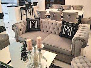 Aranżacje naszych klientów! Wnętrze w stylu Glamour