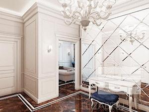Wnętrza w stylu MOdern Classic - Średni beżowy hol / przedpokój, styl glamour - zdjęcie od PRIMAVERA-HOME.COM