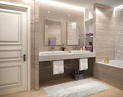 Wnętrza w Stylu Nowojorskim - Średnia łazienka bez okna, styl nowojorski - zdjęcie od PRIMAVERA-HOME.COM