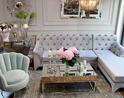 Sofa glamour tapicerowana na zamówienie - zdjęcie od PRIMAVERA-HOME.COM