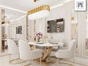 Nowoczesna jadalnia w stylu Glamour - inspiracje Primavera Home