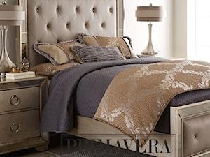 Łóżko tapicerowane lustrzane nowoczesne styl nowojorski glamour HOLLYWOOD - zdjęcie od PRIMAVERA-HOME.COM