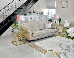 Nasze Realizacje - mieszkanie w stylu glamour - zdjęcie od PRIMAVERA-HOME.COM - Homebook