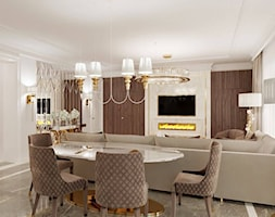 Jadalnia+Glamour+-+meble+z%C5%82ote+-+zdj%C4%99cie+od+PRIMAVERA-HOME.COM