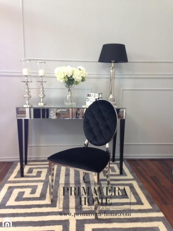 Salon w stylu Glamour - Sypialnia, styl nowojorski - zdjęcie od PRIMAVERA-HOME.COM