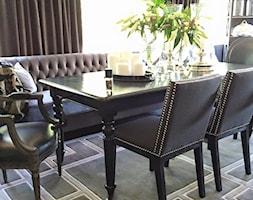 Sklep Eichholtz Warzszawa i on-line - Mała otwarta jadalnia w salonie, styl vintage - zdjęcie od PRIMAVERA-HOME.COM