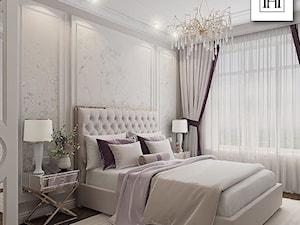 Nowoczesna sypialnia w stylu Glamour - inspiracje Primavera Home