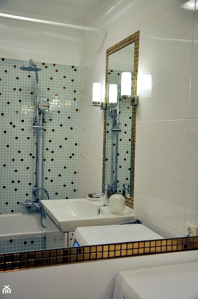 Mozaika Szklana Złota A116 Primaveraskleppl Zdjęcie Od