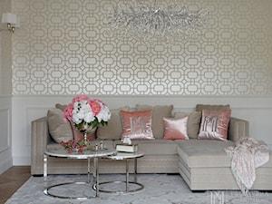 Eleganckie meble tapicerowane w stylu Glamour - sofy  fotele łóżka krzesła