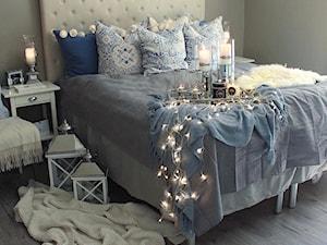 Classic Łóżko tapicerowane pikowane chesterfield szare, białe 140*200, 160*200, 180*200 - zdjęcie od PRIMAVERA-HOME.COM