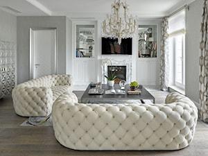 Nowoczesna sofa pikowana chesterfield w stylu glamour Gabriela - zdjęcie od PRIMAVERA-HOME.COM