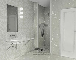 Łazienka w stylu Glamour z obrazem z mozaiki - Łazienka, styl włoski - zdjęcie od PRIMAVERA-HOME.COM