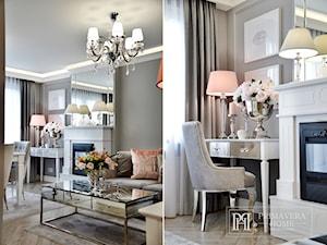 Nasze Realizacje - mieszkanie w stylu glamour