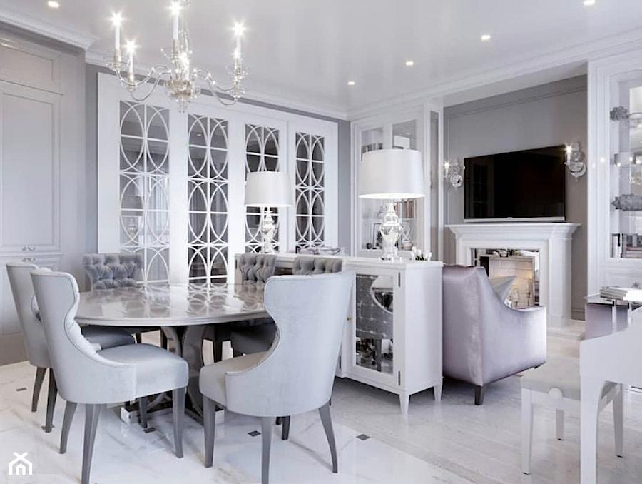 Meble na zamówinie w stylu Glamour i Nowojorskim - Jadalnia, styl glamour - zdjęcie od PRIMAVERA-HOME.COM
