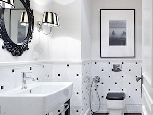 Wnętrza w Stylu Nowojorskim - Biała łazienka, styl nowojorski - zdjęcie od PRIMAVERA-HOME.COM