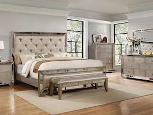 Sypialnia gwiazd w stylu nowojorskim