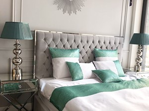 Łóżka glamour