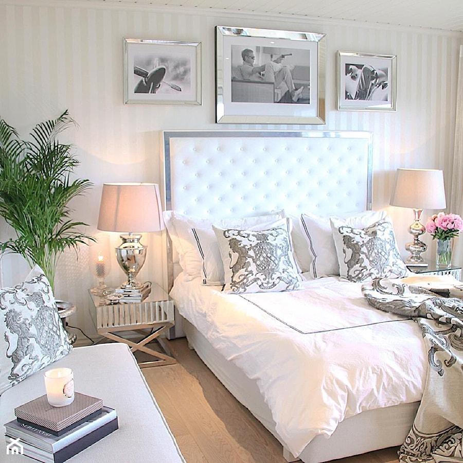 Sypialnia w stylu Modern Classic - Mała sypialnia ...