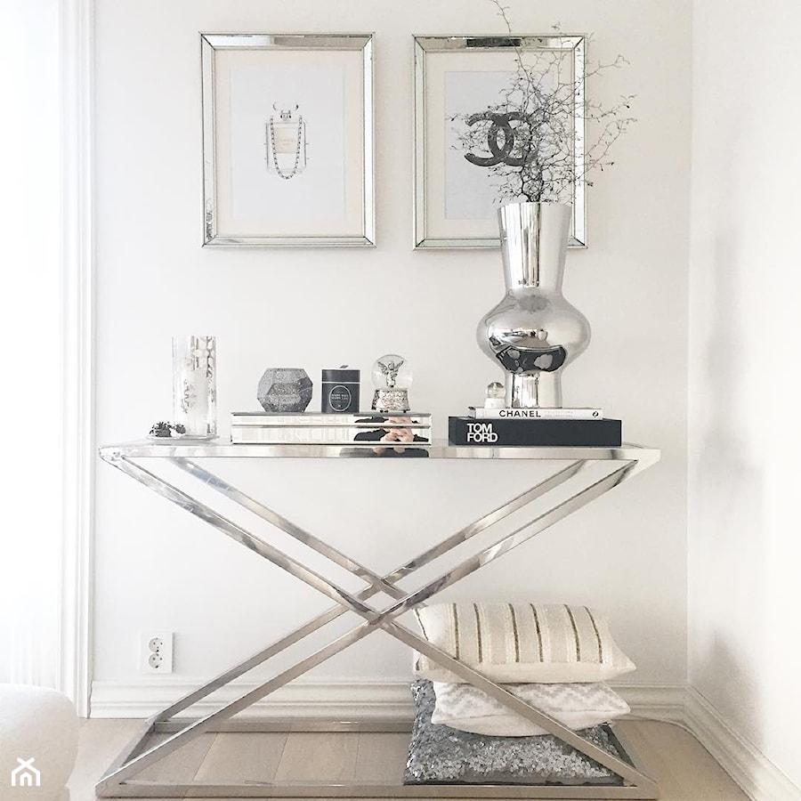 Konsola i stoliki kawowe stal Criss cross - Salon, styl nowojorski - zdjęcie od PRIMAVERA-HOME.COM