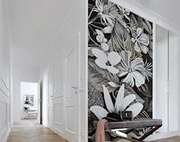 Apartament w stulu Nowojorskim - luksusowe wnetrza: salon, sypialnia - Duży biały hol / przedpokój, styl nowojorski - zdjęcie od PRIMAVERA-HOME.COM
