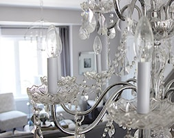 Żyrandol w stylu glamour z kryształkami PALACE F - zdjęcie od PRIMAVERA-HOME.COM