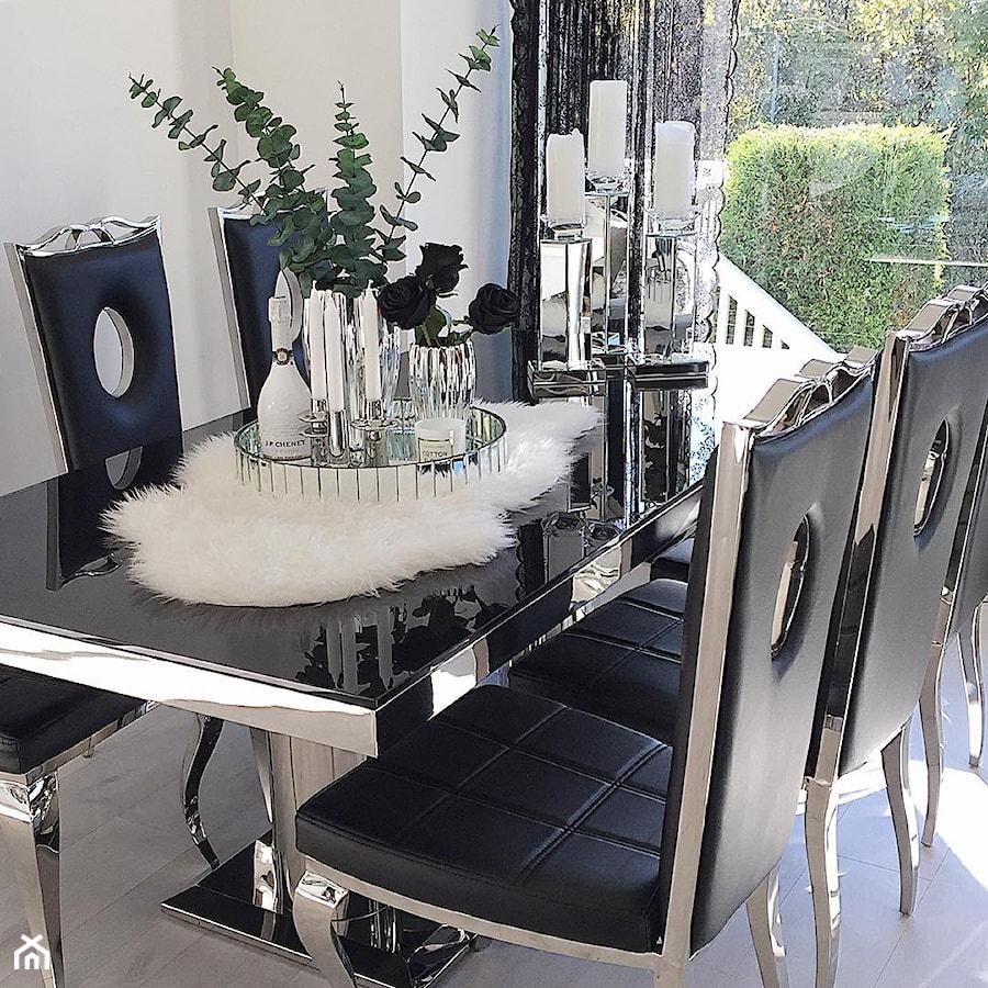 Salon w stylu Glamour - Jadalnia, styl glamour - zdjęcie od PRIMAVERA-HOME.COM
