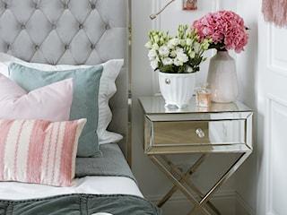 Apartament w stulu Glamour - luksusowe wnetrza: salon, sypialnia, kuchnia, łazie