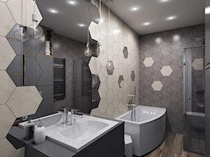Hexagon w łazience