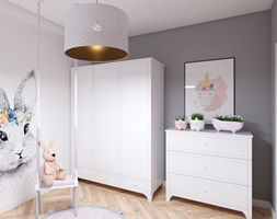 Nieszablonowa Klasyka - Pokój dziecka, styl glamour - zdjęcie od Creoline - Homebook