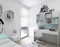 Pokój małej wielbicielki psów - Mały biały pokój dziecka dla dziewczynki dla ucznia dla nastolatka - zdjęcie od Anna Wrona