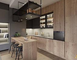Kuchnia z wyspą - zdjęcie od Studio Projektowe Atoato - Homebook