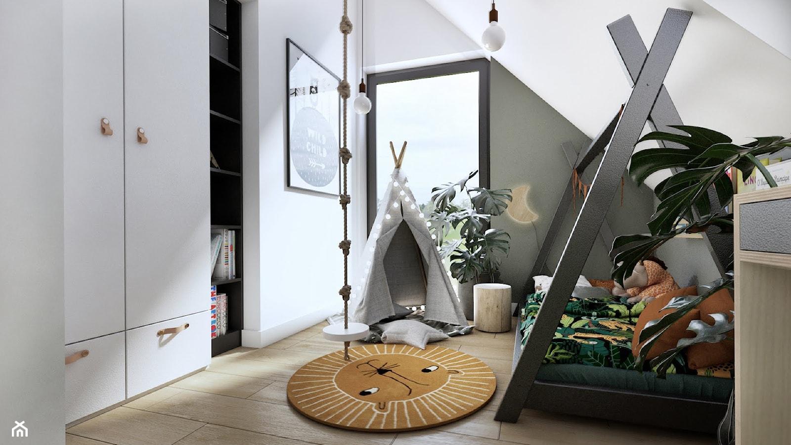 Pokój dziecka z motywem dżungli - zdjęcie od Studio Projektowe Atoato - Homebook