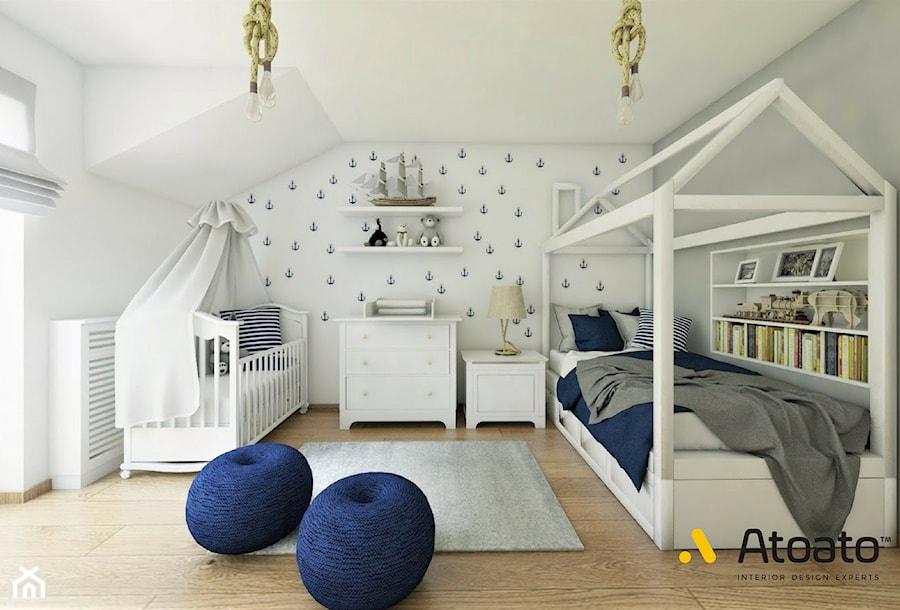 Aranżacje wnętrz - Pokój dziecka: pokój dziecka w stylu klasycznym - Studio Projektowe Atoato. Przeglądaj, dodawaj i zapisuj najlepsze zdjęcia, pomysły i inspiracje designerskie. W bazie mamy już prawie milion fotografii!