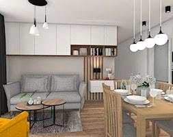 Ciepły klimat - Salon, styl nowoczesny - zdjęcie od Justyna Lewicka Design - Homebook