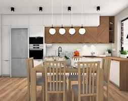 Ciepły klimat - Jadalnia, styl nowoczesny - zdjęcie od Justyna Lewicka Design - Homebook