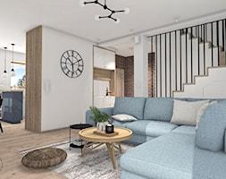 Salon w stylu rustykalnym - zdjęcie od Justyna Lewicka Design - Homebook