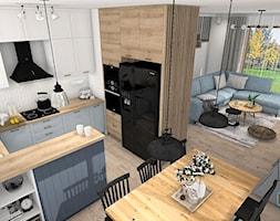 Wnętrze w stylu rustykalnym - zdjęcie od Justyna Lewicka Design - Homebook