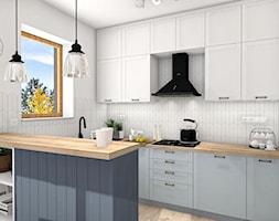 Kuchnia w stylu rustykalnym - zdjęcie od Justyna Lewicka Design - Homebook
