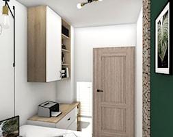 Biuro w stylu rustykalnym - zdjęcie od Justyna Lewicka Design - Homebook