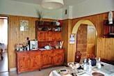 drewniane szafki kuchenne przed metamorfozą