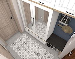 Przedpokój w stylu rustykalnym - zdjęcie od Justyna Lewicka Design - Homebook