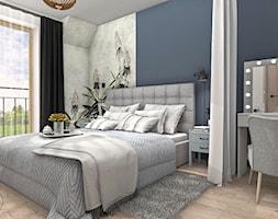 Sypialnia główna w stylu rustykalnym - zdjęcie od Justyna Lewicka Design - Homebook