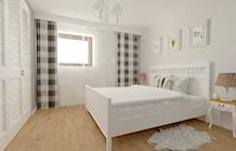 Sypialnia styl Prowansalski - zdjęcie od Justyna Lewicka Design