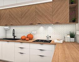 Ciepły klimat - Kuchnia, styl nowoczesny - zdjęcie od Justyna Lewicka Design - Homebook
