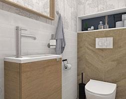 Toaleta w stylu rustykalnym - zdjęcie od Justyna Lewicka Design - Homebook