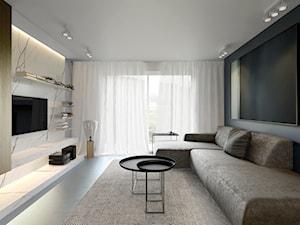GREY BLUE INTERIOR | wnętrze domu jednorodzinnego Poznań