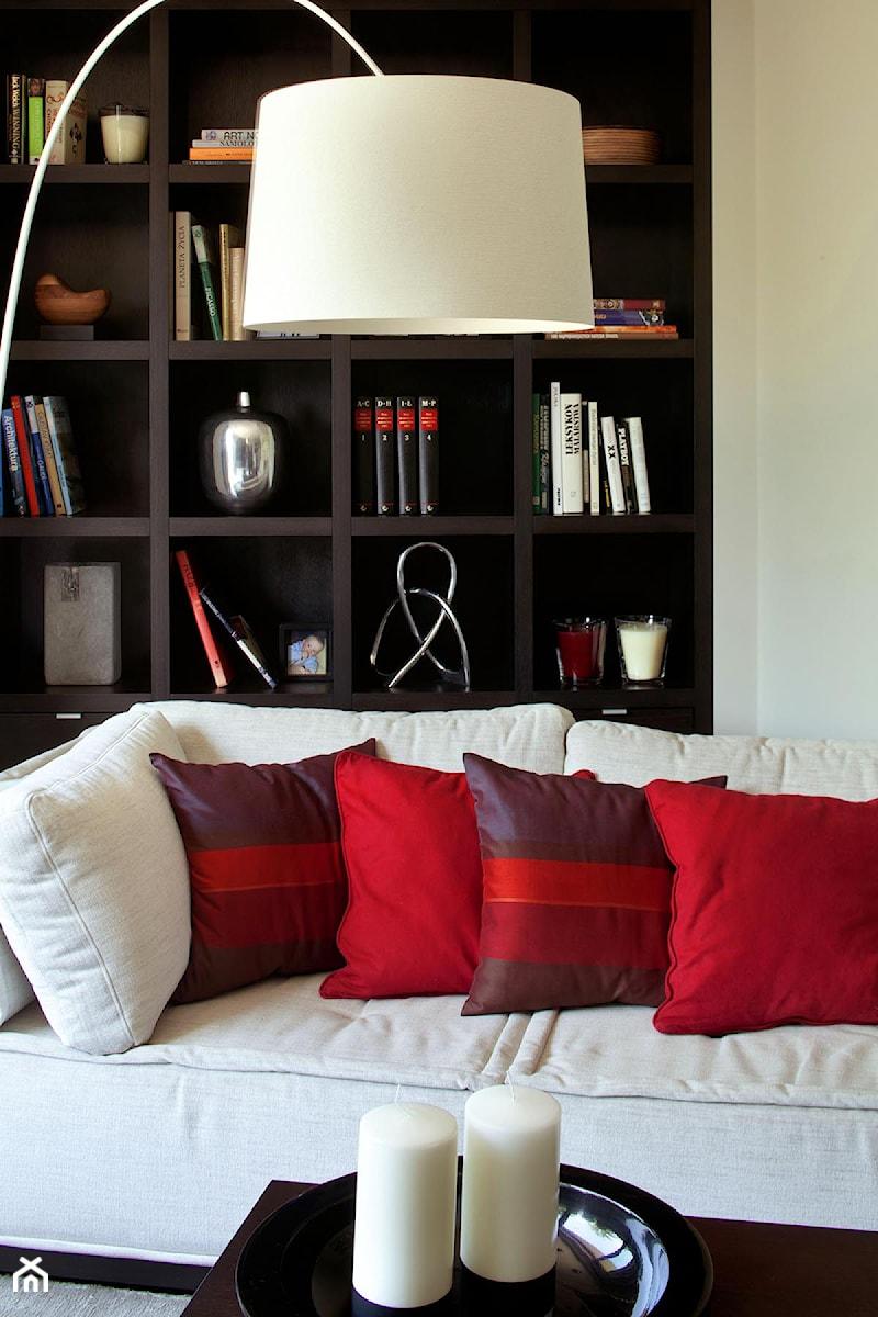 Apartament modernistyczny - Salon, styl nowoczesny - zdjęcie od CKTprojekt