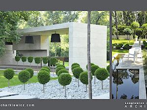 Projekt ogrodu dla znanej projektantki mody. - zdjęcie od Lengiewicz-Charkiewicz Architekci
