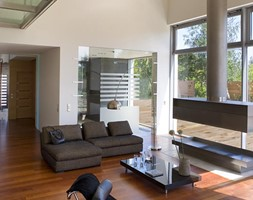 Modern House - Salon, styl nowoczesny - zdjęcie od Lengiewicz-Charkiewicz Architekci - Homebook